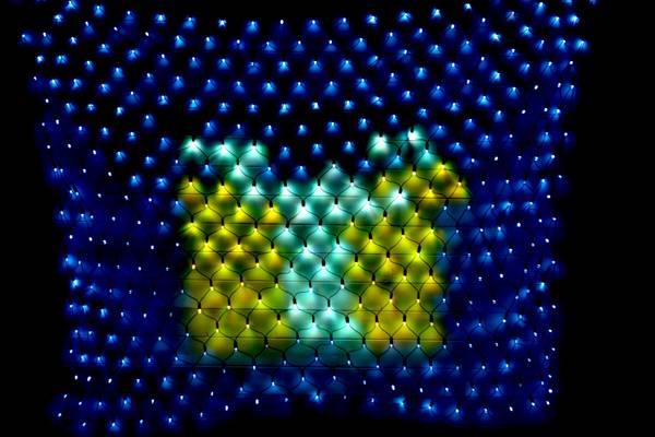 Bilde av 3X2M Lysnett IP44 Smart LED multifarge og animasjon m/