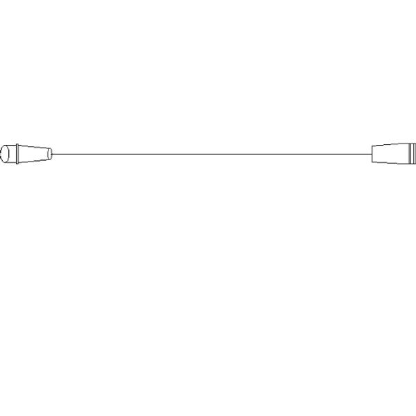 Bilde av Koblingsledning 3 meter - forlenger mellom LED-figurer