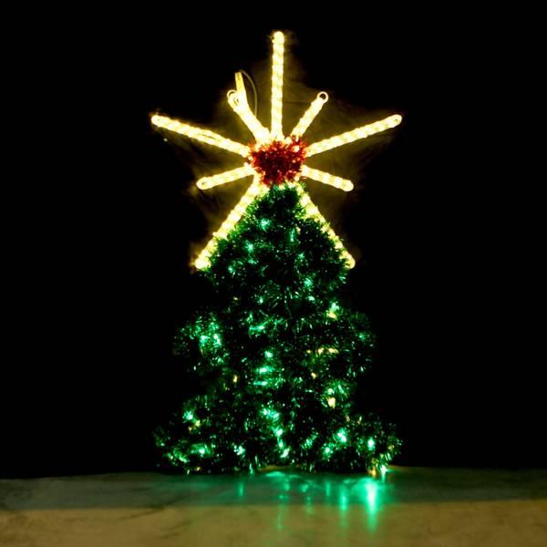 Bilde av Juletre med stjerne 110x63 cm